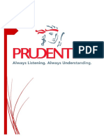Term Paper on Prudential PLC