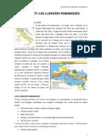 Tema6-El llatí i les llengues romàniques