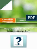 Komunikasi interprofesi.ppt