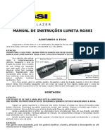(Cod2 39964)Manual de Instrucoes Luneta Rossi