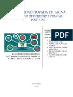 El Comercio Electronico Impulso de Las Mypes y Pyme en El Peru