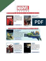 Novedades Panini Marvel diciembre 2018