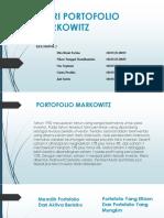 55125_(Fix)Teori Portofolio Markowitz Ppt