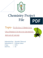 Chemistry Project CBSE