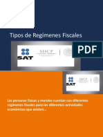 REGÍMENES FISCALES_