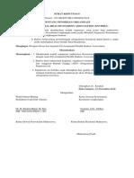 001 Surat Keputusan Pendirian Organisasi