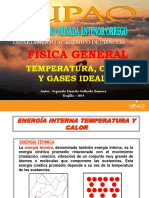 Temperatura, Calor y Gas Ideal