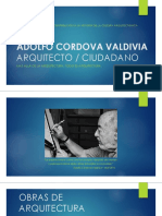 Adolfo Cordova Valdivia