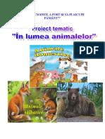 Proiect_tematic- In Lumea Animalelor