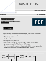 Fischer Tropsch Process Presentation