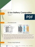 Li-ion Battery Composites