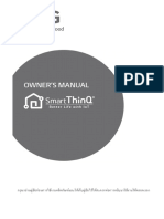 SmartThinQ Manual
