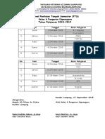 Jadwal Pts Diponegoro