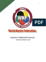 WKF Kata Kumite Rules 1.1.2019 ENG