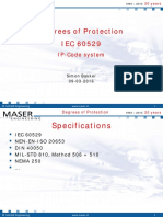 MASER Degrees of Protection PLOT 2016-03-09 IP IEC 60529 V00