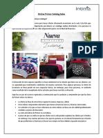 Online Primor Catalog Sales