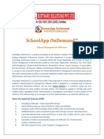 SchoolApp OnDemand - School Management Software in India