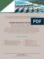 Job-Maldives 21.11.2018 HR Assistant