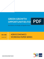 ADB_Green Growth Opportunities for Asia