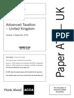 ACCA ATX Paper Sep 2018