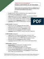 Estructura y Consejos Para Un Debate Estilo Académico