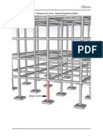 Slender Concrete Columns Sway Frame Moment Magnification ACI318-14 PCA