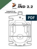 Base de Furacao Dz Ind 2.2 Jetflex Brushless