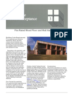 Design for Code Acceptance - Fire Rated Wood Floor and Wall Assemblies