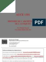 AUCE 1301A Intro Prehistoire