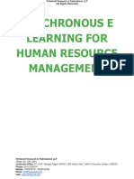 Synchronous e Learning for Human Resource Management [www.writekraft.com]