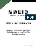 Manual - Valid - Token - Mac OS