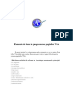 HTML Baza Dictionar