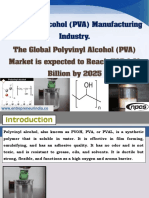 Polyvinyl Alcohol (PVA) Manufacturing Industry