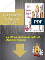 Physiologic Aspects of Aging
