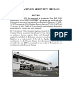 Modernización Del Aeropuerto Chiclayo