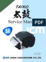 JCM Taiko - Service Manual Rev 06_2008