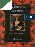 Colette Davenat, La Favorita Del Inca (Novela)