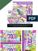Kit Imprimible Equestria Girls