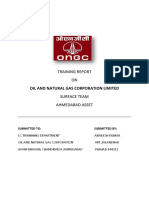 ongc project report