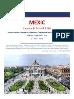 Paste & 1 Mai 2019 - Mexic