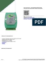 Lr 7510aar Conversor Repetidor Isolado de Rs 422485 Para Rs 422485