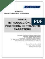 U1. Introd. a La Ing. de Tránsito Carretero