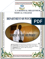 Case Report on Bipolar I Disorders by Dr. Daniel Garang Aluk Dinyo at St. Paul's Hospital Millennium Medical College, Addis Ababa - Ethiopia 2016