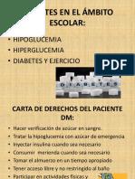 Diabetes en El Ámbito Escolar..
