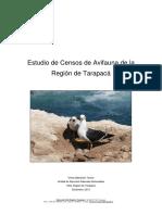 Estudio de Censos de Avifauna de La Region de Tarapaca 2013 0