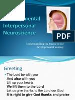 Neuroscience and Develpment Intro 2018