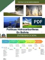 Tema 8 - Políticas Hidrocarburíferas en Bolivia