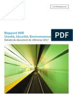 Thales_Rapport HSE 2017