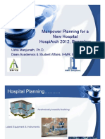 Dr. Usha - Manpower Planning New Hospitals