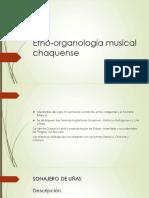 Etno-Organología Musical Chaquense